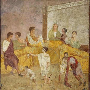 Fresco found in Pompeii