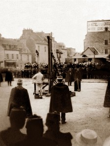 Public execution in 1896